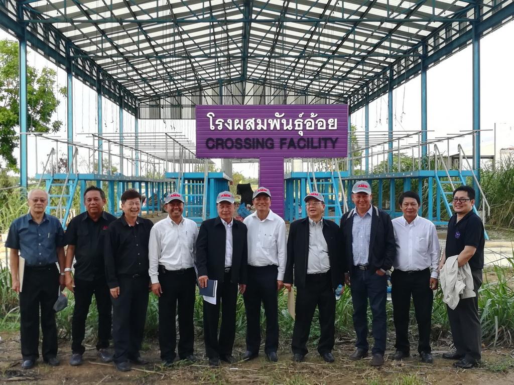 เมื่อวันที่ 18-19 พฤษภาคม 2560 ที่ผ่านมา คณะผู้ตรวจกระทรวงอุตสาหกรรมเข้าตรวจติดตามโครงการประเภทที่ 1 ของ สอน. ณ ศูนย์การปรับปรุงพันธุ์อ้อยแห่งประเทศไทย
