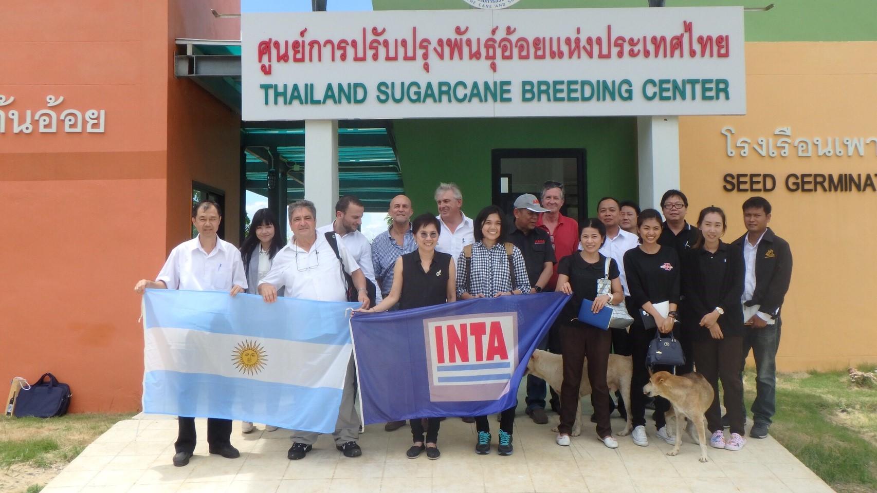 เมื่อวันที่ 26 มิถุนายน 2560 ที่ผ่านมา ทูตเกษตรจากประเทศอาร์เจนติน่า ขอเข้าเยี่ยมชมศูนย์การปรับปรุงพันธุ์อ้อยแห่งประเทศไทย (TSBC)
