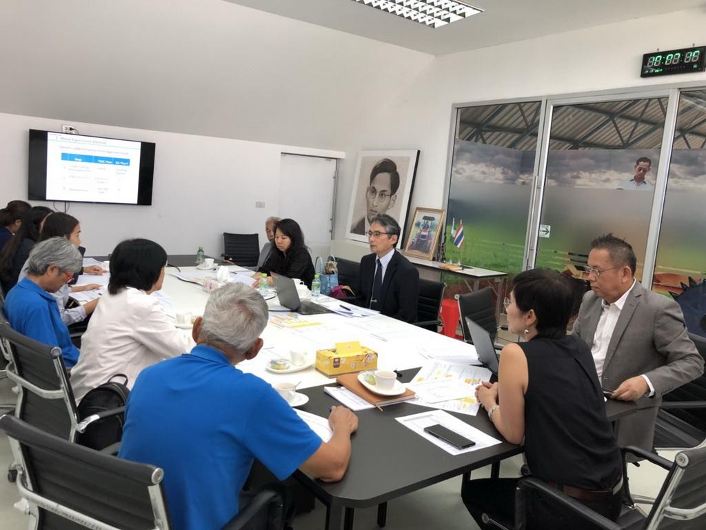 เมื่อวันที่ 16 พฤษภาคม 2561 ที่ผ่านมา คณะที่ปรึกษาโครงการฯประชุมร่วมกับ TOYOTA ในหัวข้อ DNA fingerprint