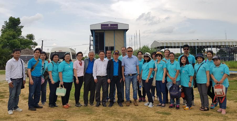 เมื่อวันที่ 30 พฤษภาคม 2561 ที่ผ่านมา สำนักงานกองทุนอ้อยและน้ำตาลทราย ขอเข้าศึกษาดูงาน ณ ศูนย์การปรับปรุงพันธุ์อ้อยแห่งประเทศไทย (TSBC)