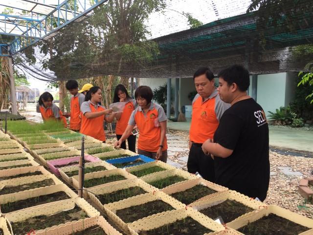 วันที่ 25 มีนาคม 2562 รศ.ดร.ประสิทธิ์ ใจศิล  รศ.ดร. ยุพา หารบุญทรง พร้อมนิสิตคณะเกษตรศาสตร์ มหาวิทยาลัยขอนแก่น  เข้าเยี่ยมชมาดูงานวิจัย และกิจกรรม  ณ ศูนย์การปรับปรุงพันธุ์อ้อยแห่งประเทศไทย (TSBC)