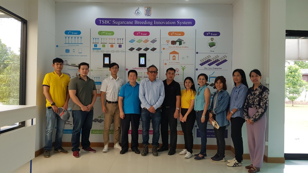 เมื่อวันที่ 20 สิงหาคม  2562 ที่ผ่านมา Mr.Linjanyi และ Mr.Tah zhi yang จาก China Sunward เข้าศึกษาดูงานวิจัยและพัฒนาพันธุ์อ้อย ณ ศูนย์การปรับปรุงพันธุ์อ้อยแห่งประเทศไทย